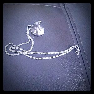 Hershey kiss necklace